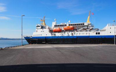 Ut på bøljan blå med skoleskipet Gann!