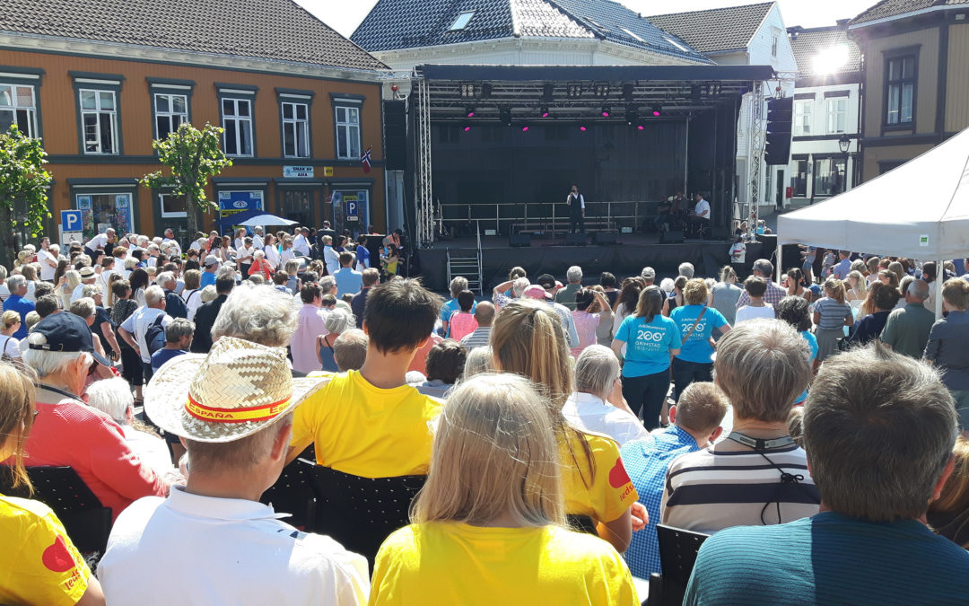 200 års jubileum for Grimstad by