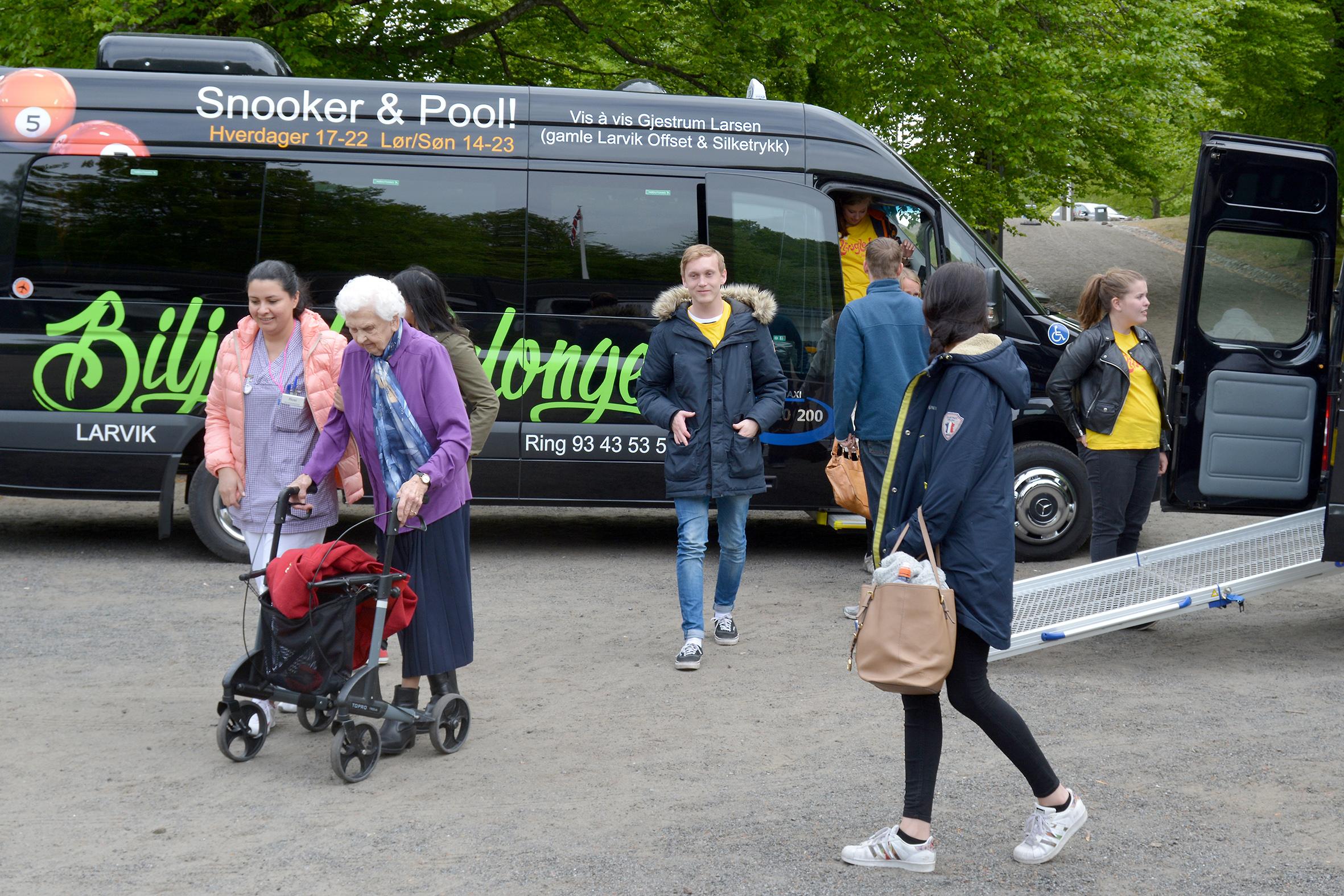 Busstur med Yttersølia