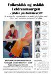Plakat verdiseminar Erkebispegården 19.10.17