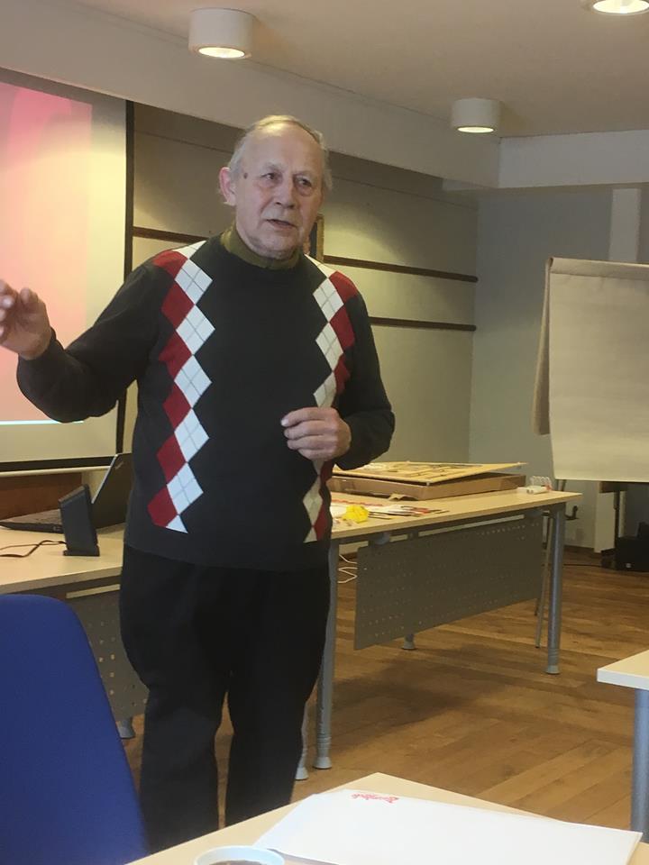 Agnar Kleveland er leder av Pensjonistforeningen. Det var de som tok initiativ til at Gratangheimen skulle bli et livsgledehjem.