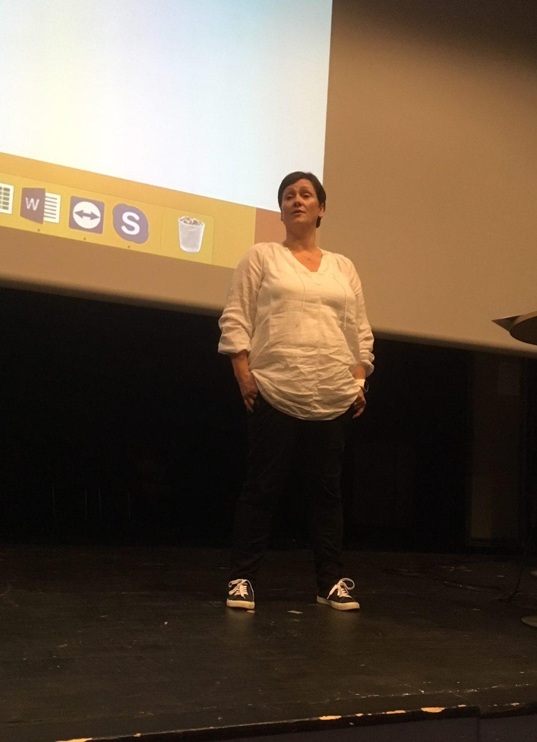 Kommunens livsgledekonsulent Karin Knutsen