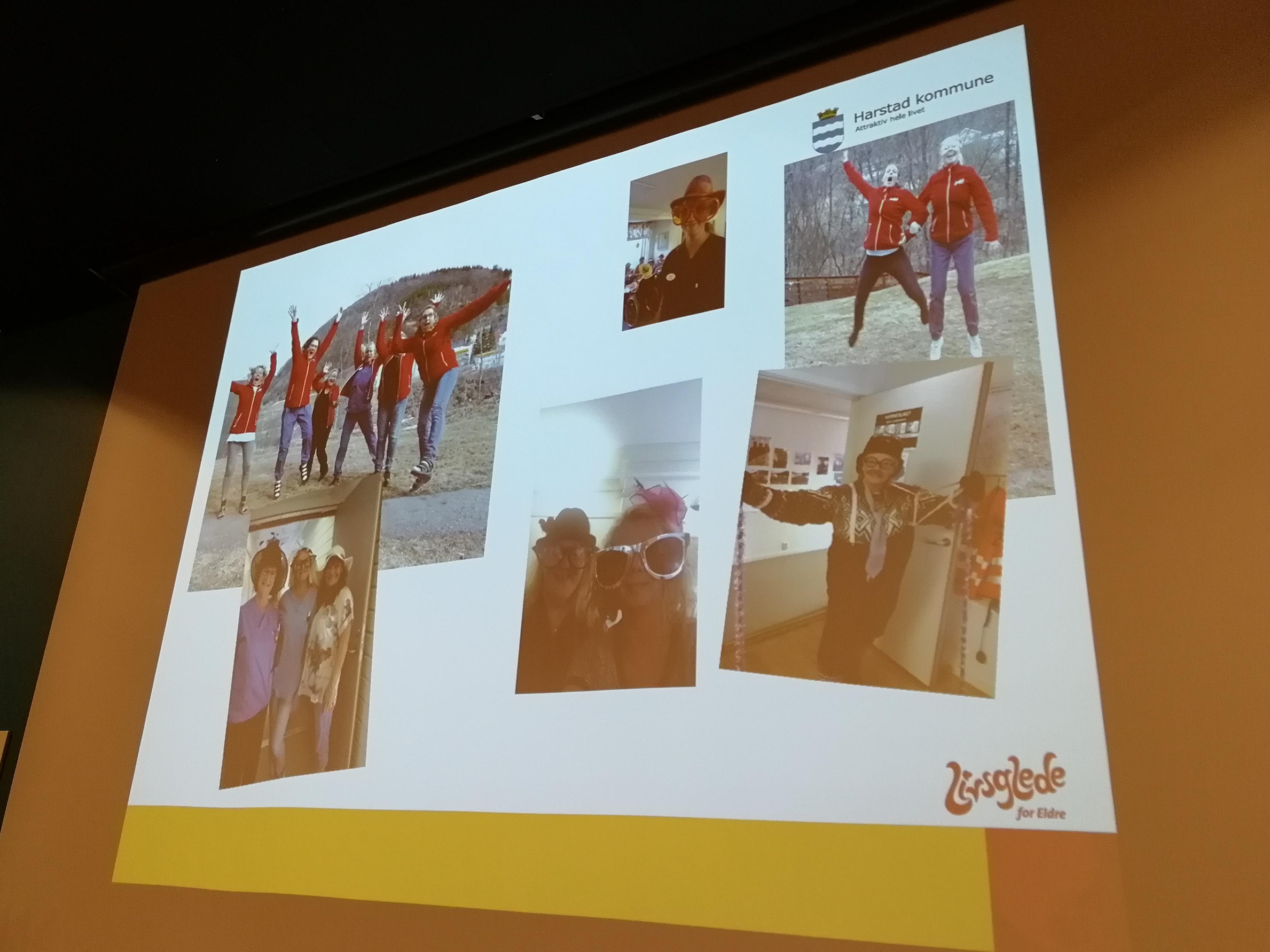 Blinkskudd fra arbeidsdagene på Bergseng bosenter i Harstad