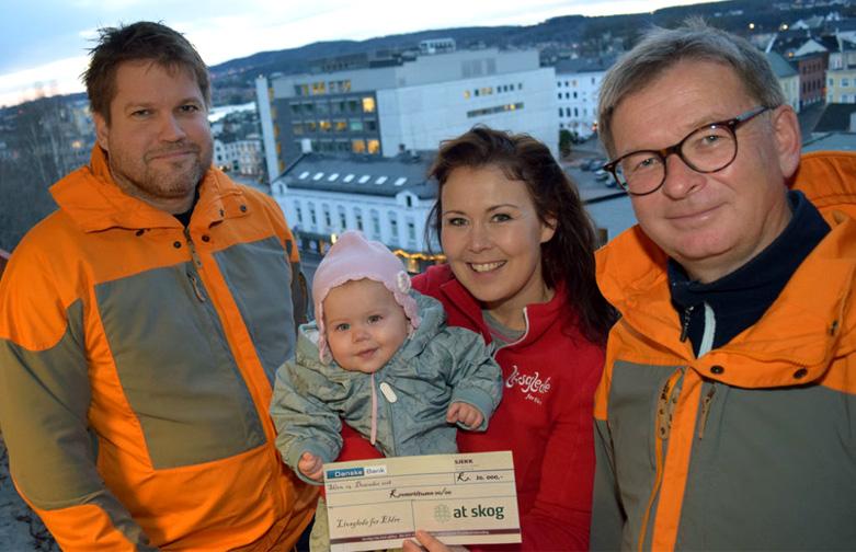 10000 takk til de ansatte i AT Skog!