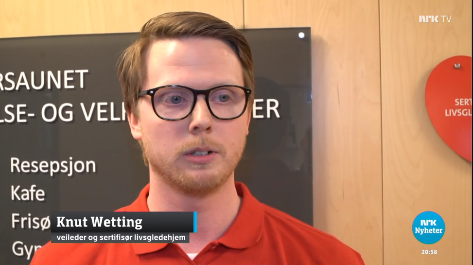 NRK – Alle helse- og velferdssentre i Trondheim er Livsgledehjem