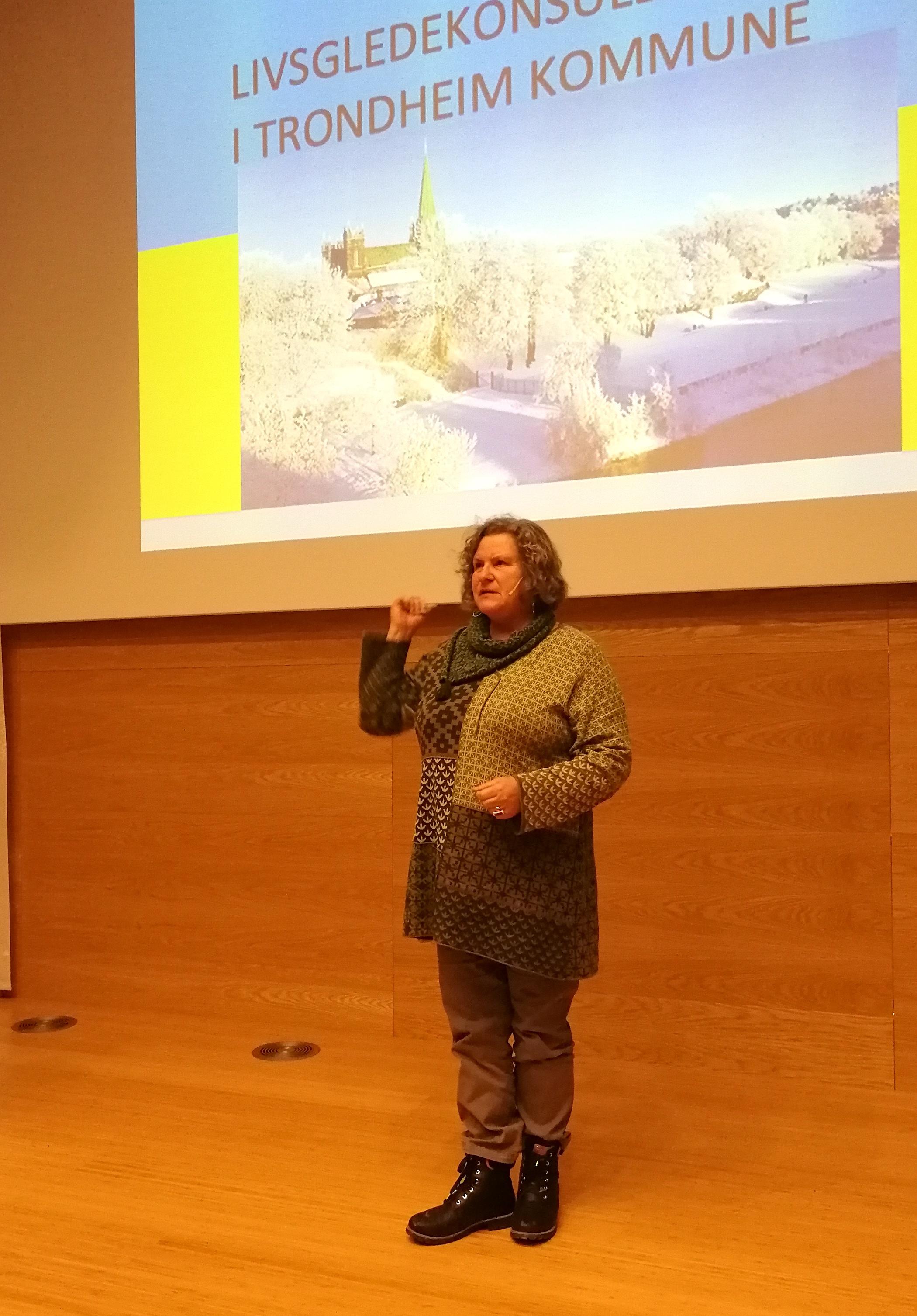 Norges første livsgledekonsulent, Siri Svennigsson