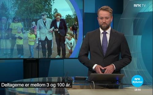NRK – Livsgledebarnehagen Idrettsparken barnehage inviterte til idrettsdag