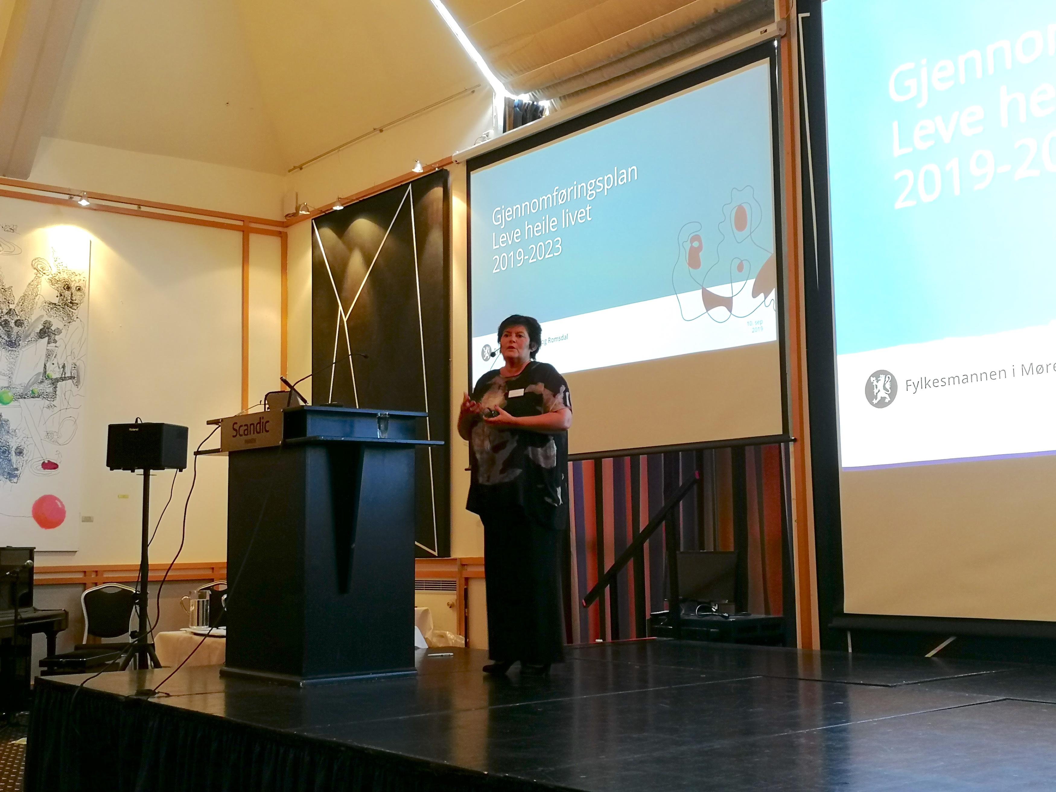 Greta Hanset fra Fylkesmannen i Møre og Romsdal