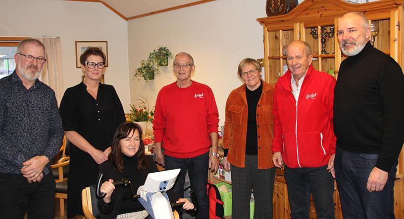 Storslått gave til Strand kommune fra Livsglede for Eldre