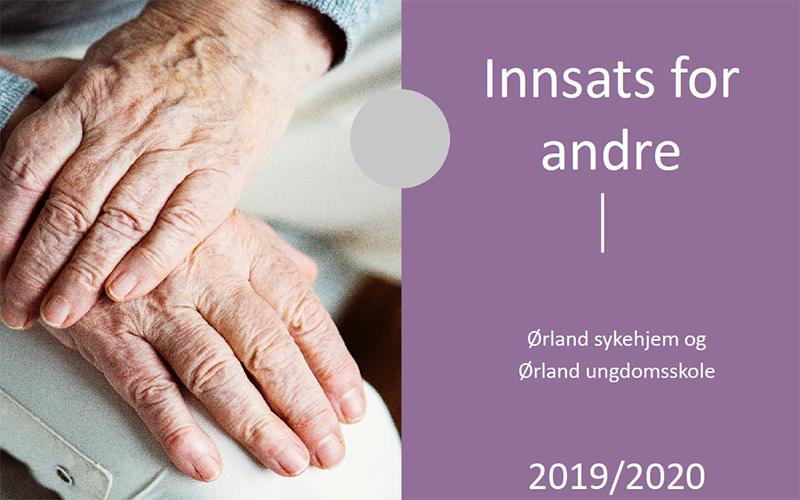 Innsats for andre – erfaringrapport fra Ørland kommune