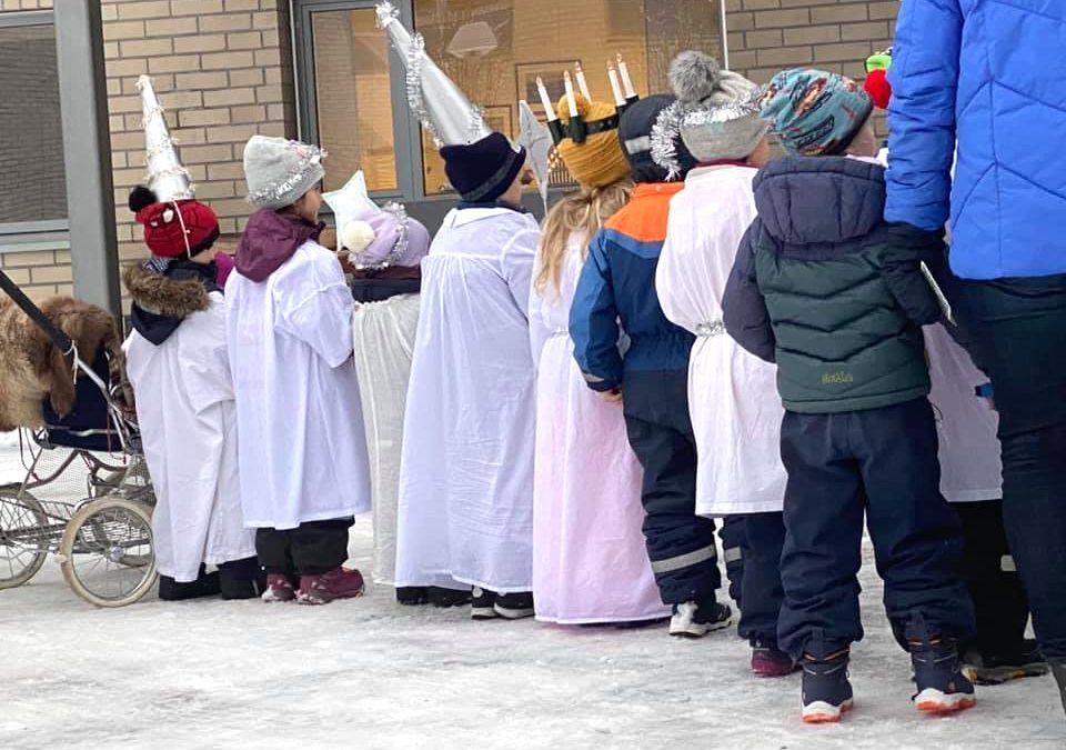 Livsgledebarnehager feirer Luciadagen