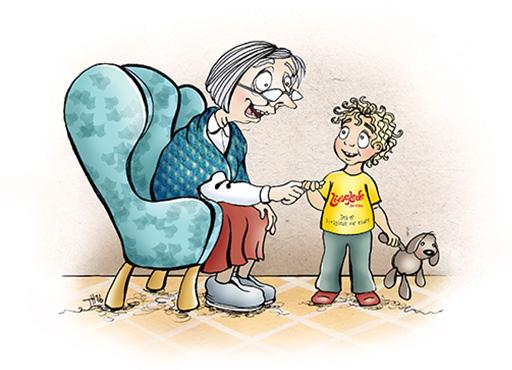 Savner besøkene fra livsgledebarnehagen