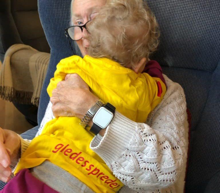 Generasjonsmøtene er viktig både for barna og de eldre, og møtene har vært savnet
