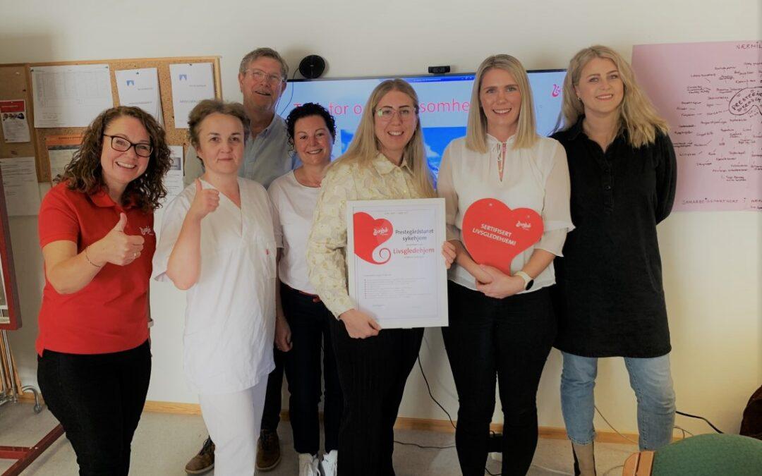 Alle sykehjem i Narvik er nå sertifiserte livsgledehjem