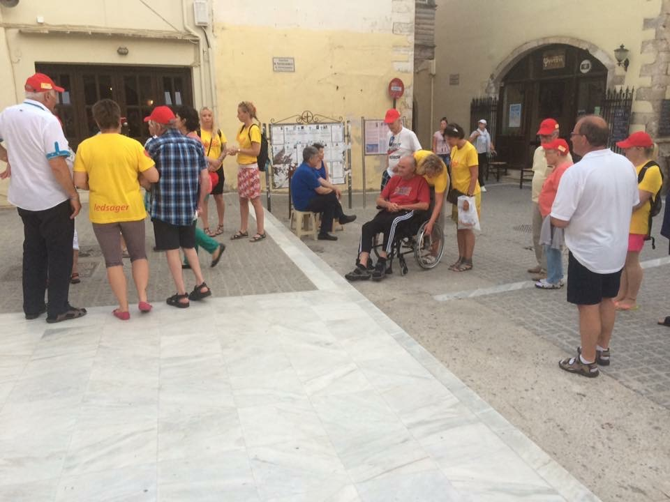 Livsglede på Kreta