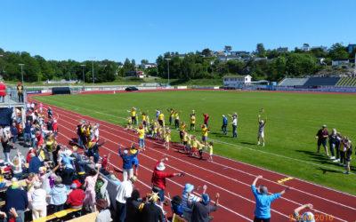 Aktivitetsdag for eldre på Levermyr stadion