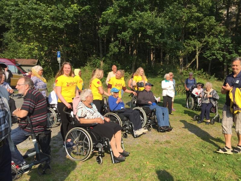 Seniortur med lokalforeningen i Grimstad