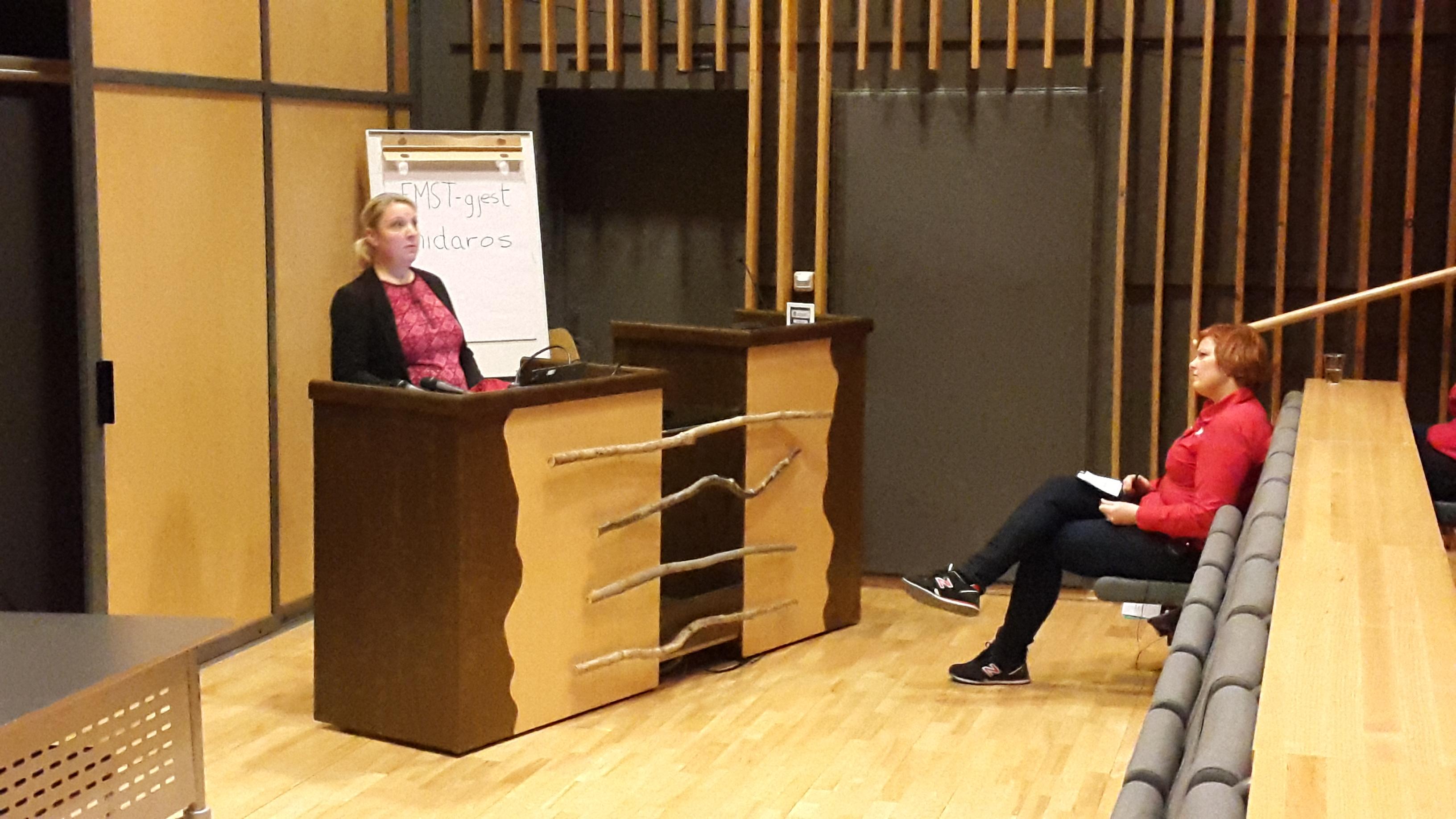 Enhetsleder ved Havstein helse- og velferdssenter, Tone Krause-Kamphaug