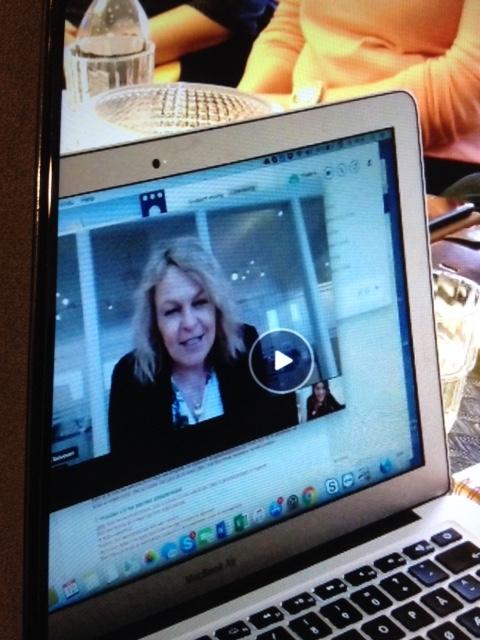 Eldreminister Åse Michaelsen ønsket tillykke som Livsgledehjem nummer 100 per videokonferanse da Yttersølia sykehjem besto sertifiseringen.